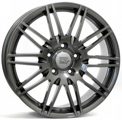 Llanta WSP Q7 ALABAMA 8.5x19.0 ET62 5X130 71,6 ANTHRACITE POLISHED