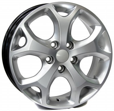 Felge WSP MAX - MEXICO 8.0x18.0 ET55 5X108 63,4 HYPER SILVER