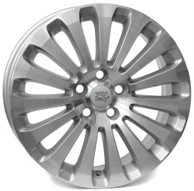 Felge WSP ISIDORO 7.0x17.0 ET50 5X108 63,4 SILVER POLISHED