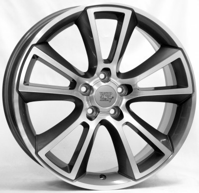 Llanta WSP MOON 8.0x18.0 ET46 5x115 70,2 ANTHRACITE POLISHED