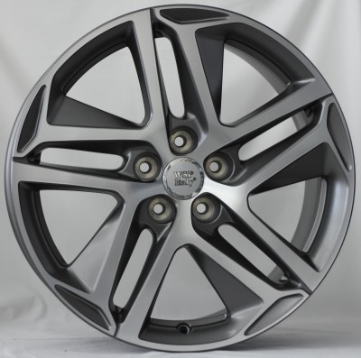 Llanta WSP DUBAI 7.5x17.0 ET47 5X108 65,1 MATT GM POLISHED