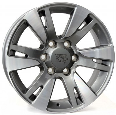 Felge WSP VENERE 7.5x18.0 ET25 6X139,7 106,1 ANTHRACITE POLISHED