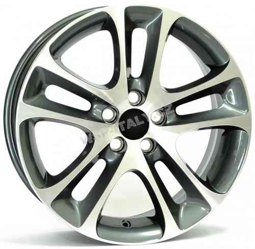 Llanta WSP C30 NIGHT 7.5x18.0 ET52,5 5X108 63,4 ANTHRACITE POLISHED