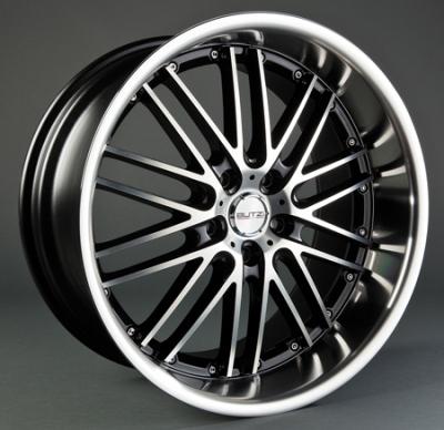 """4 Llantas¡¡ GT-C/HS188 8x 19""""  5x110 ET30 73,1 Black/Full Polish"""