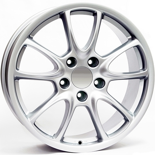 Wheel WSP Corsair GT3/RS FL.F 10.0x19.0 ET45 5X130 71,6 SILVER