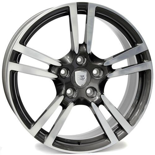 Wheel WSP SATURN 8.0x18.0 ET50 5X130 71,6 ANTHRACITE POLISHED