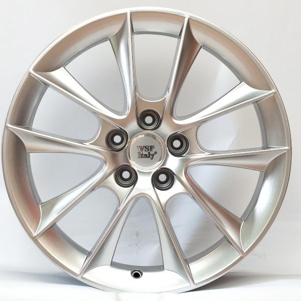 Wheel WSP AOSTA AERO 7.0x16.0 ET41 5X110 65,1 HYPER SILVER