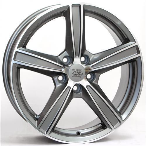 Wheel WSP LIMA 8.0x19.0 ET49 5X108 65,1 ANTHRACITE POLISHED