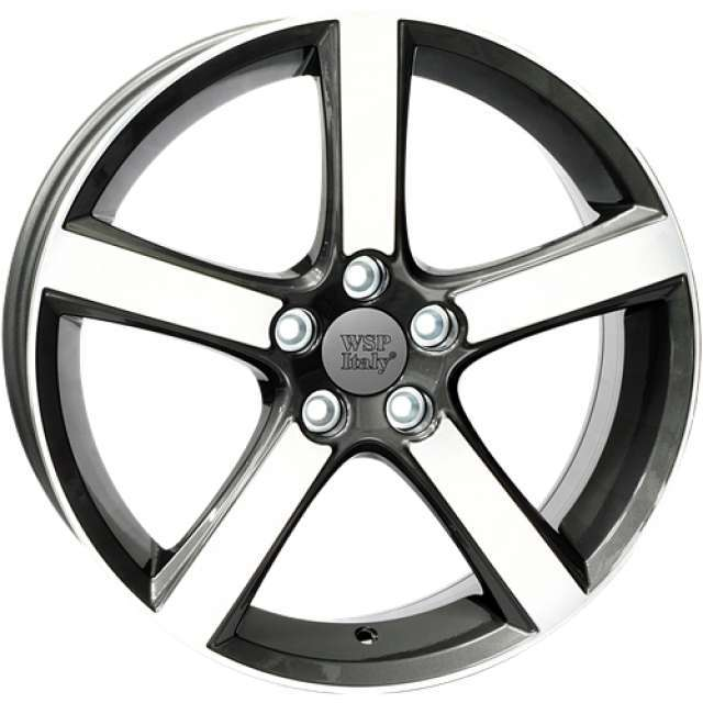 Wheel WSP NORD 7.5x18.0 ET52,5 5X108 63,4 ANTHRACITE POLISHED