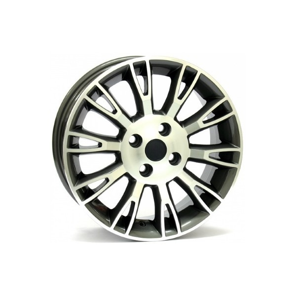 Wheel WSP VALENCIA 6.0x15.0 ET45 4X100 56,6 ANTHRACITE POLISHED