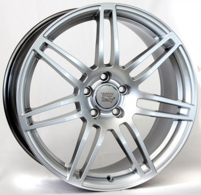 4 Llantas¡¡ WSP S8 COSMA TWO 8.5x19.0 ET32 5X112 66,6 HYPER ANTHRACITE