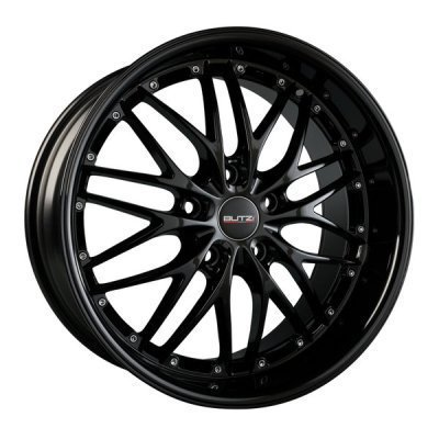 "Wheel GT-RS/HS169 7,5x 17""  4x100 ET38 67,1 Full Black"