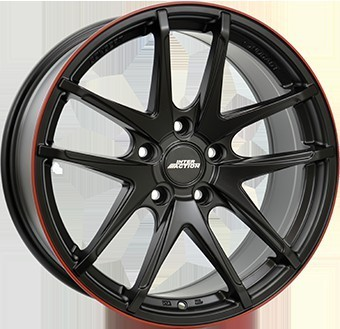 Wheel 7,5X17 IA RED HOT 5/100   ET35 CH57,1